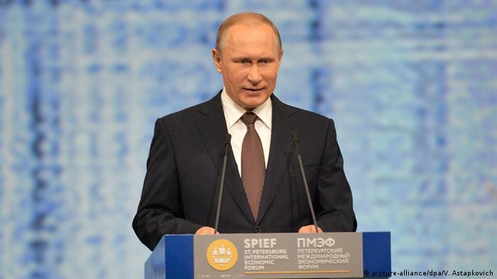 Russland Wirtschaftsforum SPIEF 2016 in St. Petersburg