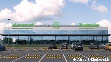 Russland Moskau Flughafen