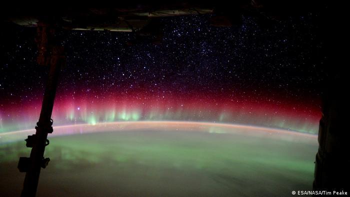 ISS Tim Peake Selfie (ESA/NASA/Tim Peake)