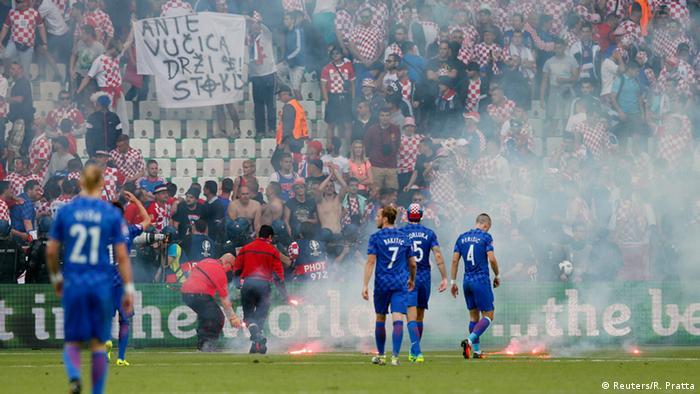 يورو 2016: اليويفا يغرم الاتحاد الكرواتي 100 ألف يورو