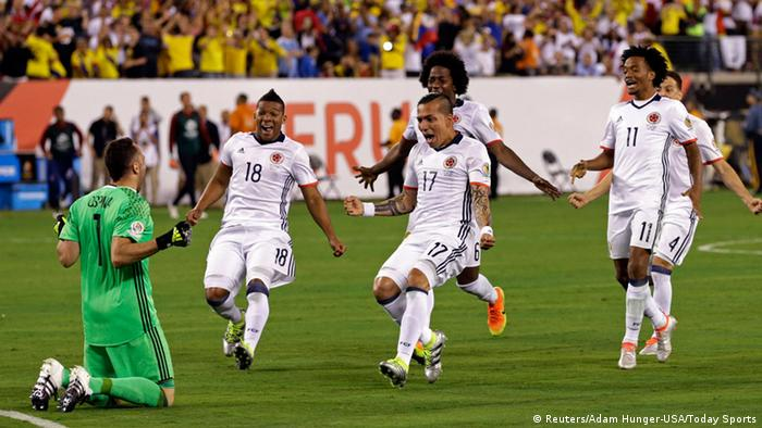 Copa America 2016 Peru vs Kolumbien