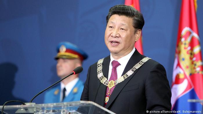 China Präsident Xi Jinping zu Besuch in Serbien