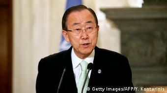 Griechenland Besuch UN Generalsekretär Ban Ki-moon