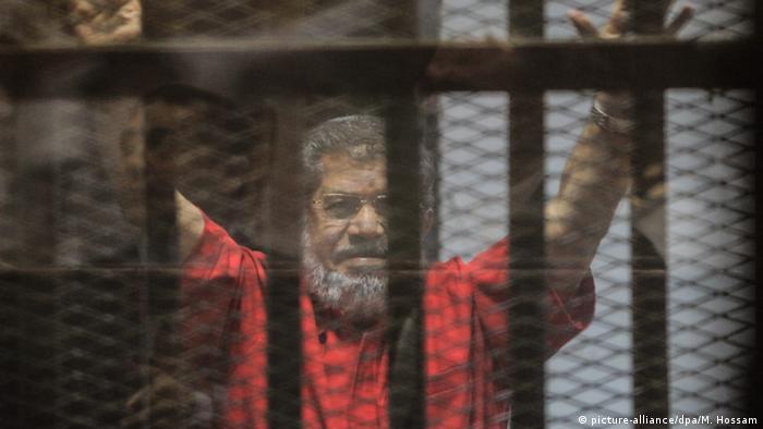 Ägypten Mohamed Mursi Kairo (picture-alliance/dpa/M. Hossam)