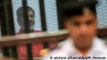Ägypten Kairo Urteilsverkündung gegen Mohamed Mursi