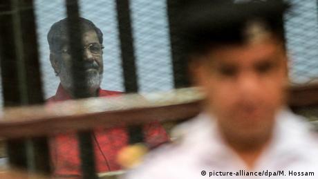 Ägypten Kairo Urteilsverkündung gegen Mohamed Mursi (picture-alliance/dpa/M. Hossam)