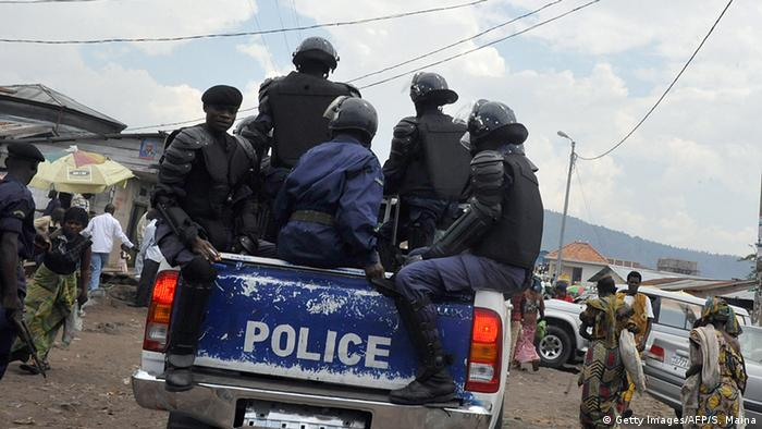 Symbolbild Polizei Kongo