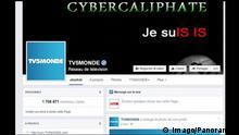Paris Hackerangriff auf TV5Monde durch Cybercaliphate - facebook-Seite
