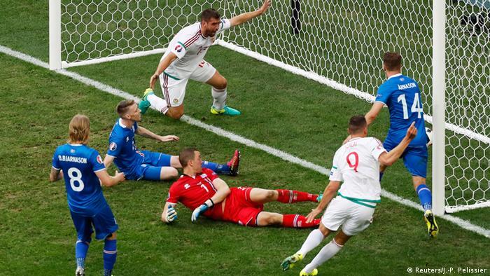 Frankreich Fußball-EM Island vs. Ungarn in Marseille