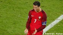 Frankreich Fußball-EM Portugal vs Österreich in Paris