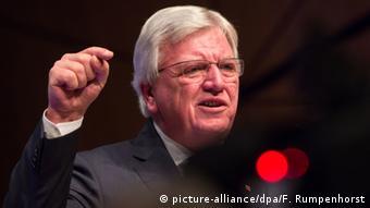 Landesparteitag CDU in Darmstadt Volker Bouffier