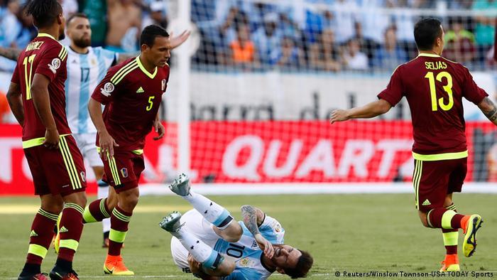 Copa America 2016 Venezuela vs Argentinien
