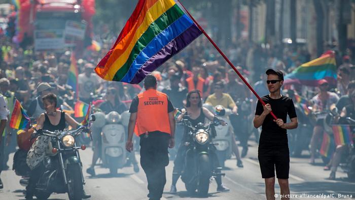 Österreich Wien Rainbow Parade