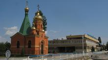 Ukraine Izmail Kapelle am Kreuzfahrthafen
