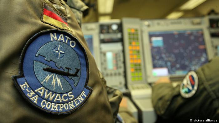 AWACS und NATO Symbole