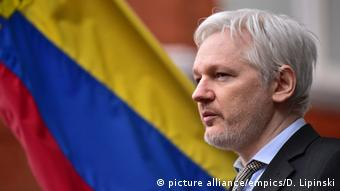 Julian Assange Gründer WikiLeaks (picture alliance/empics/D. Lipinski)