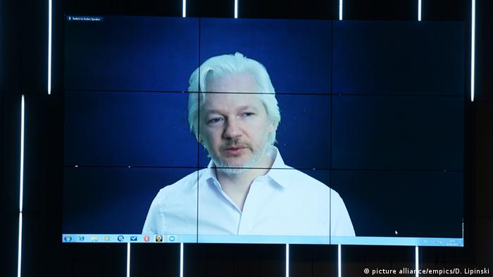 Julian Assange, WikiLeaks founder (picture alliance/empics/D. Lipinski)