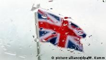 Brexit Symbolbild Fahne, Flagge
