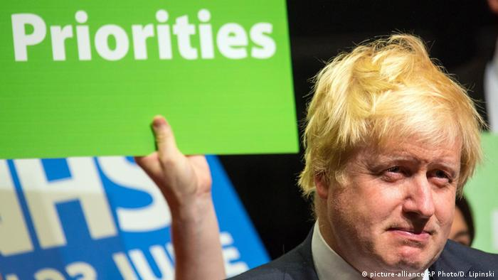 Boris Johnson, exalcalde de Londres.