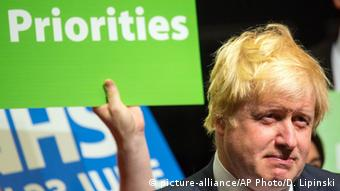 Brexit-Befürworter Boris Johnson (Foto: picture-alliance/AP Photo/D. Lipinski)