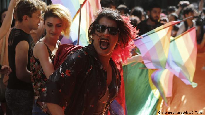 LGBT rally in Istanbul