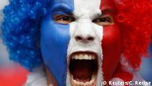 Frankreich Fußball-EM Frankreich vs Schweiz in Lille Fans