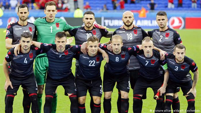 Albanien Vs Frankreich