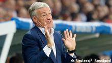 Frankreich Fußball-EM Frankreich vs Schweiz in Lille Didier Deschamps