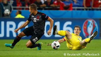 Frankreich Fußball-EM Rumänien vs Albanien in Lyon
