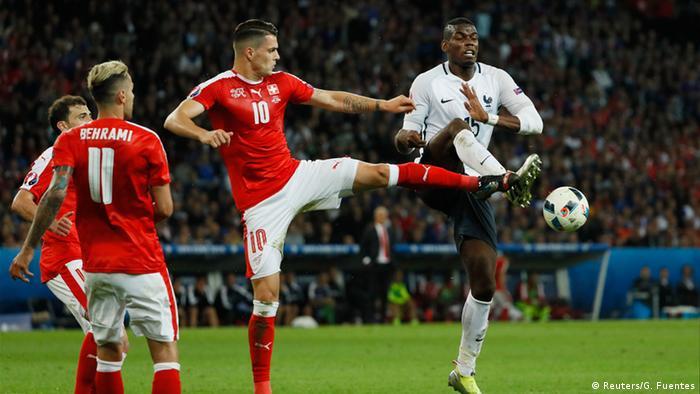Lance da partida França e Suíça pela Eurocopa 2016 09733ea953e05