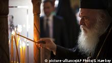 Die Führer der christlich-orthodoxen Kirchen