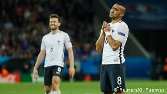 Frankreich Fußball-EM Frankreich vs Schweiz in Lille