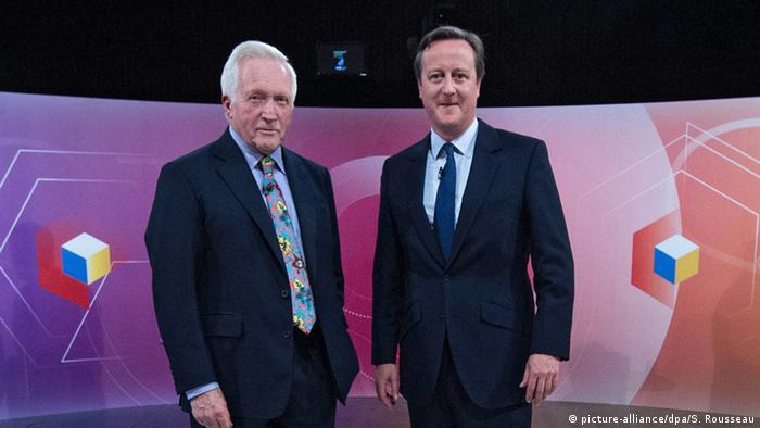 David Dimbleby und David Cameron (Foto: picture alliance)