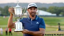 US Open Golf Turnier Dustin Johnson