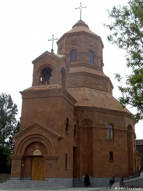 Katholische Kirche in Gjumri - Foto: Aschot Gazazyan (DW)
