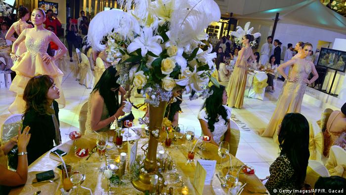 Indonesien Jakarta Mall High Society (Getty Images/AFP/R. Gacad)