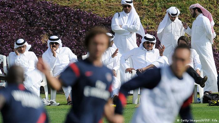 Fussball St. Germain Arabische Investoren (Getty Images/AFP/F. Fife)