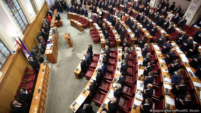 Kroatien Parlament (picture-alliance/Pixsell/S. Strukic)