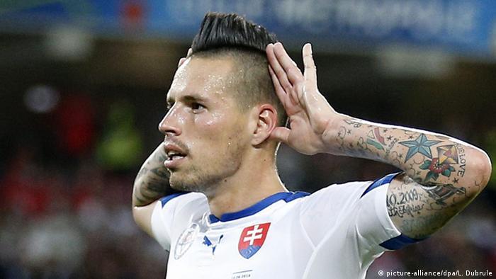 Hamsik iguala a Maradona como máximo goleador de Nápoles