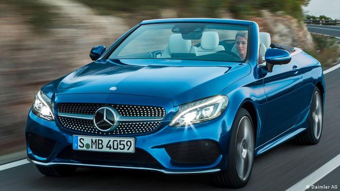 Mercedes Klasse C Cabrio