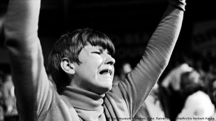 Weinender Beatles-Fan (Foto: Archiv Herbert Hauke)