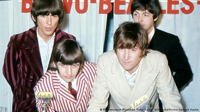 Beatles - Pressekonferenz (Foto: Archiv Herbert Hauke)