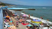 Krim Aluschta Tourismus Touristen