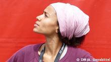 ++++++++++++++ 28.05.2016 +++++++++++++++++++++++++++ Die deutsch-nigerianische Sängerin Nneka beim Afrika-Festival Würzburg (Soul, Hip-Hop) (c) DW/A. Gensbittel