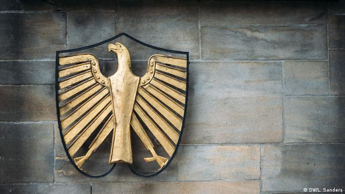 The Federal Eagle, Germany's coat of arms