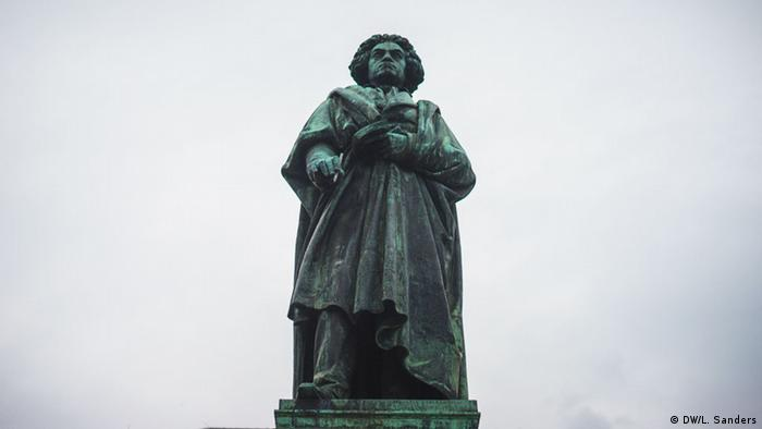 A statue of Ludwig van Beethoven in Bonn