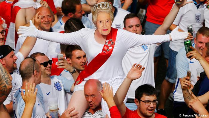 Frankreich Fußball-EM Slowakei vs. England Fans (Reuters/W. Rattay)