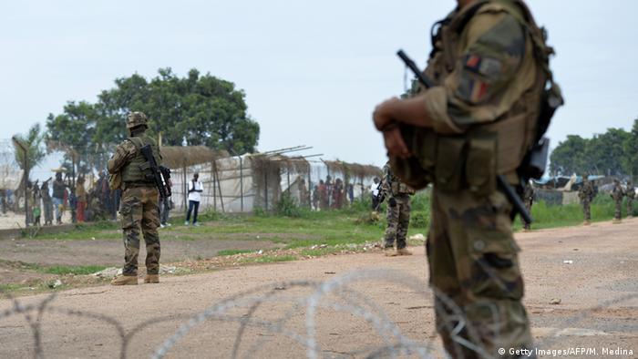 LeFrançais arrêté avait ponctuellement officié comme garde du corps au service de plusieurs organisations en Centrafrique.