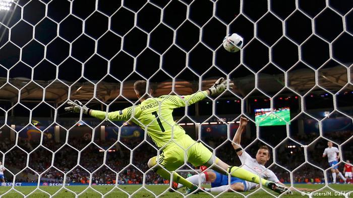 Frankreich Fußball-EM Russland vs. Wales