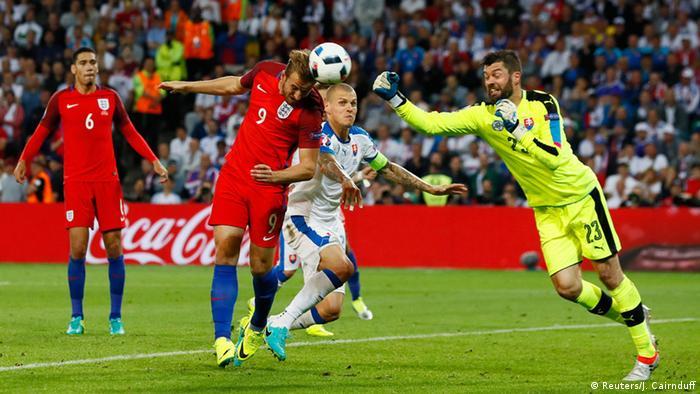 Frankreich Fußball-EM Slowakei vs. England
